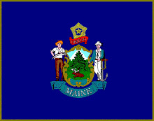 Maine State Flag: