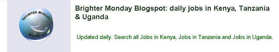 Jobs in Kenya, Tanzania & Uganda