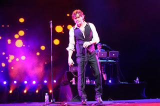 Morten durante show em São Paulo. Foto - Portal MTV