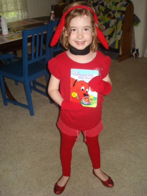 clifford costume book character day - Clifford The Big Red Dog Halloween Costume