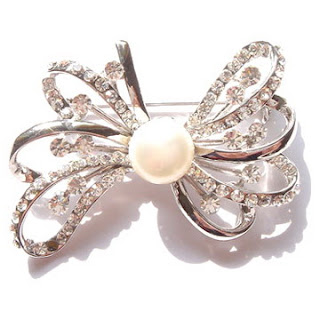 Pearl Brooches VIBRH046  - Unique and Beautifull Looking Brooches