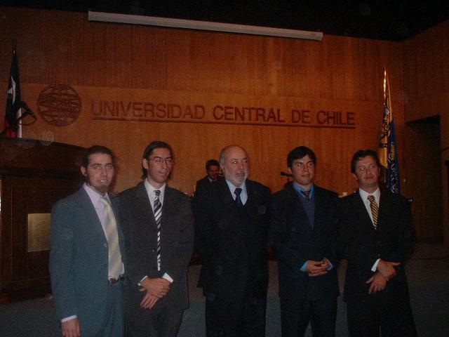 Debates UB con el Decano U. Central; Sr. Juan Guzman Tapia.