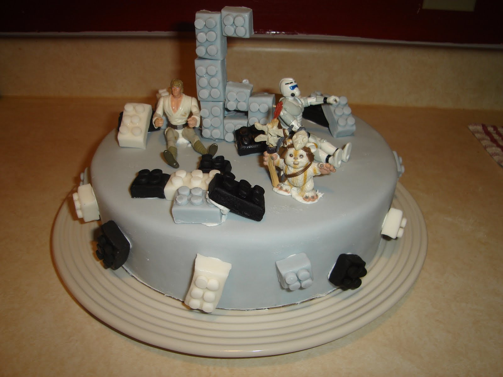 Kakies Cakes Lego Star Wars Birthday Cake