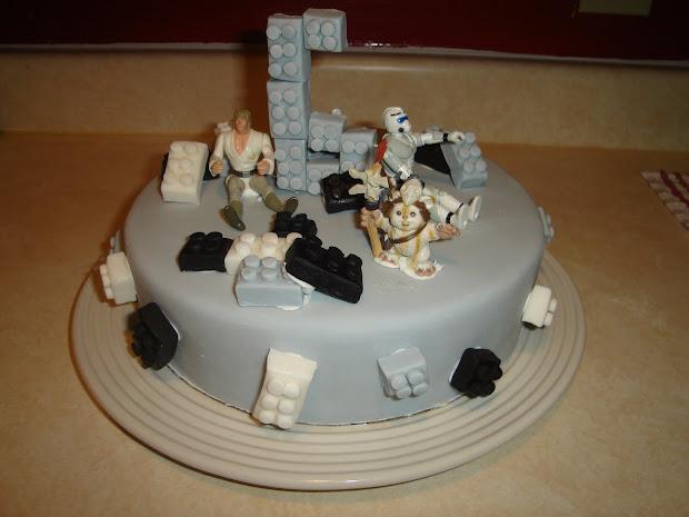 LEGO Star Wars Birthday Cake
