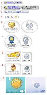 Menampilkan Status Yahoo Messenger pada Blog