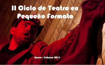 II ciclo de teatro en pequeño formato