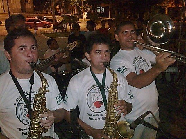 Evento cultural do patronato Souza carvalho coordenado pela professora gorete