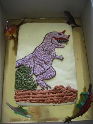 Plastic Dinosaur Cake Decorations