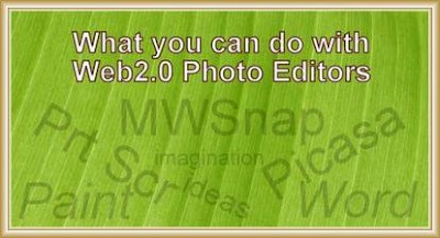 What You Can Do With Web2.0 Photo Editors