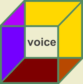 Voice in a Necker Cube - artist ken allan