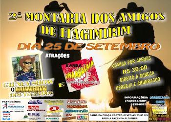 2ºMONTARIA DOS AMIGOS DE ITAGIMIRIM
