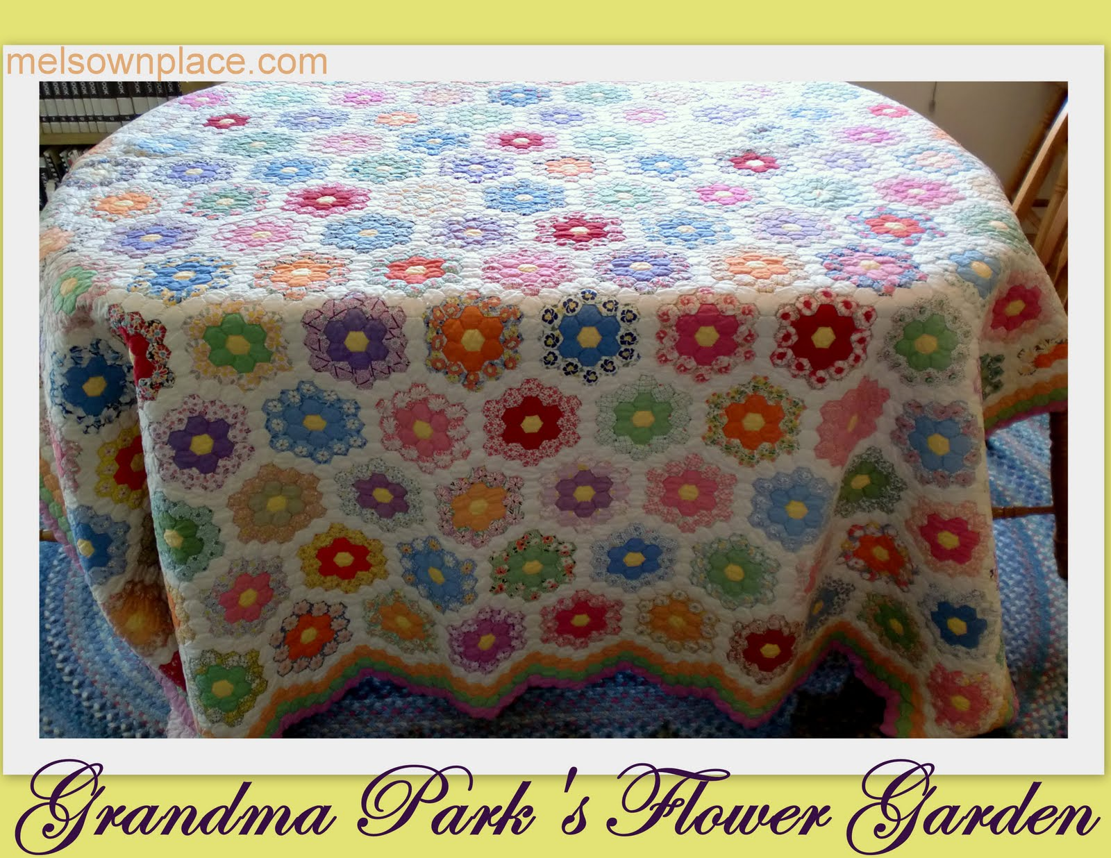 twiddletails: Quilting Grandmother's Flower Garden : grandmother flower garden quilt - Adamdwight.com