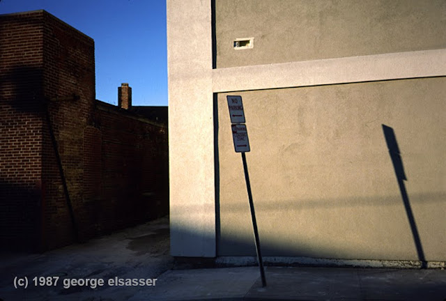 """image of buildings and corners"", (c) 1987 george elsasser"