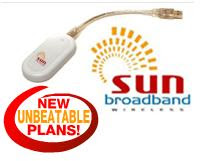 Get a SUN Broadband Wireless NOW!