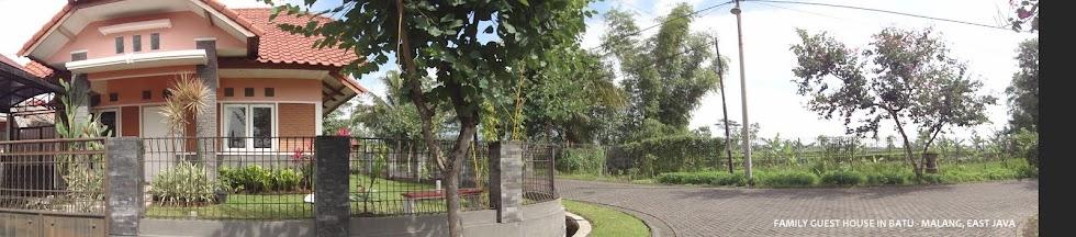Family Guest House in Batu - Malang , East Java