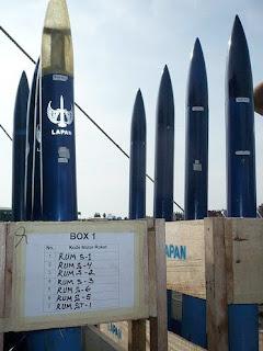 Uji Roket PINDAD n LAPAN