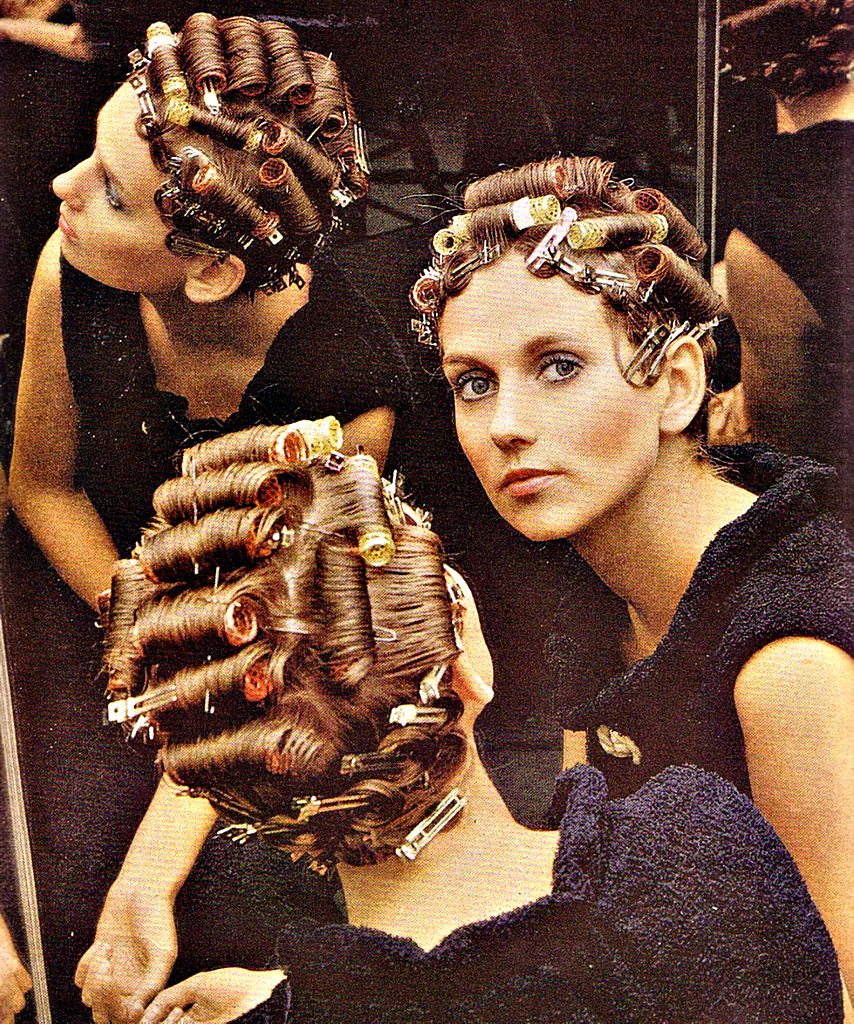 Boy In Curlers In Salon Hairstylegalleries Com