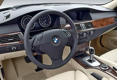 BMW 520i Interior Design