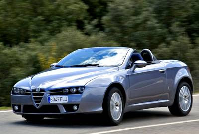 Model of Italian style and elegance Alfa Romeo Spider | Luxury Sports Car Photos