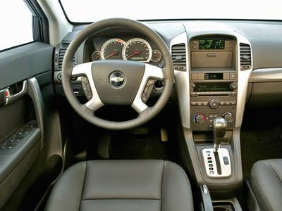 chevrolet captiva car interior | Autocars Wallpapers