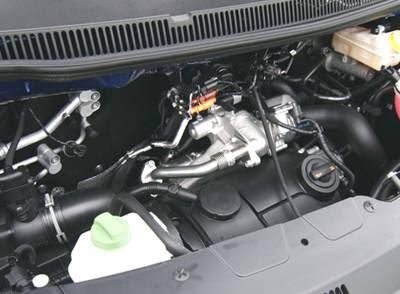 2008 Volkswagen Multivan engine