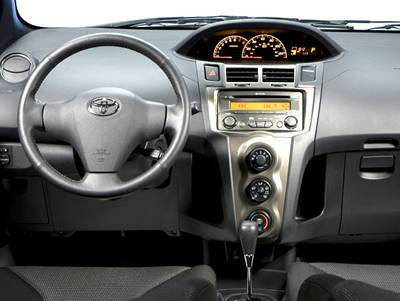 used new cars  toyota yaris interior and cars pictures