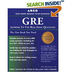 gmat answers to the real essay questions ebook