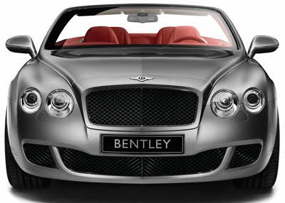 New Luxury Bentley Continental GTC Speed
