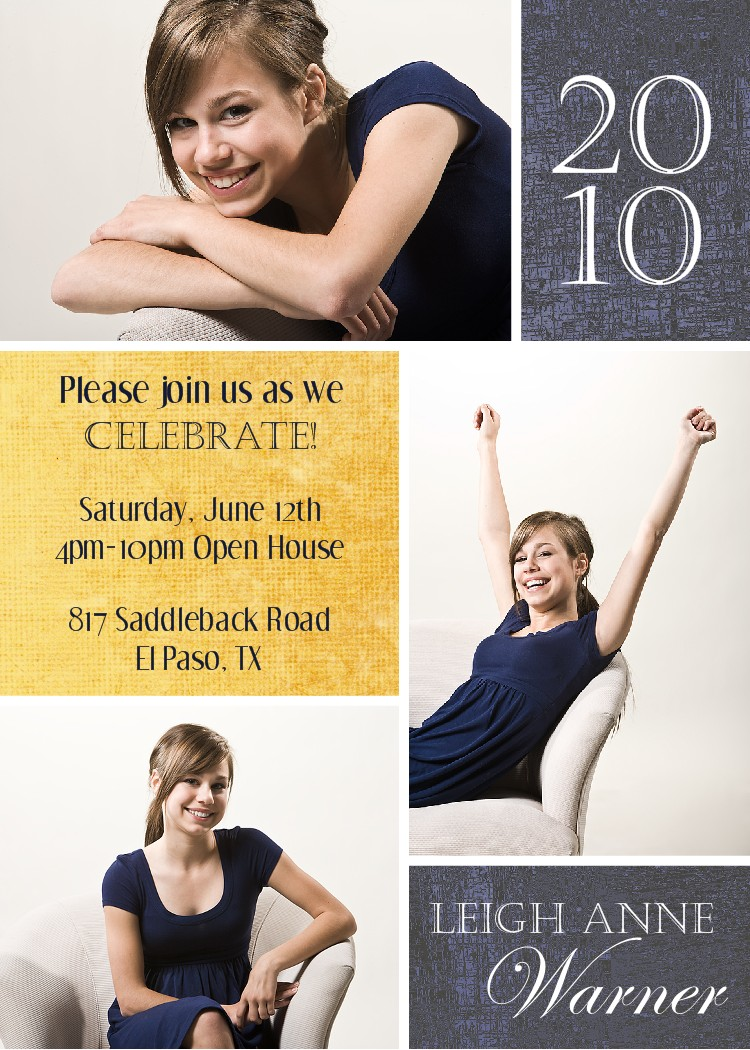 Graduation Photo Invitations for your inspiration to make invitation template look beautiful