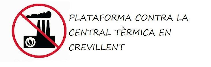 PLATAFORMA CONTRA LA CENTRAL TÈRMICA EN CREVILLENT (Valencià)