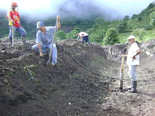 Acuicultura en policarpa nari o 2 dise o y construccion for Construccion de estanques acuicolas