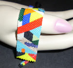 Native American In The Abstract Bracelet