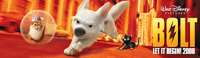 Disney Bolt Movie Banner Poster