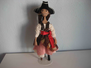 pirate doll pegleg