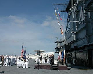 USS Midway naturalization ceremony – May 13, 2010 in San Diego