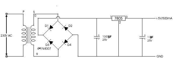 engineering projects  5v  12v regulated power supply