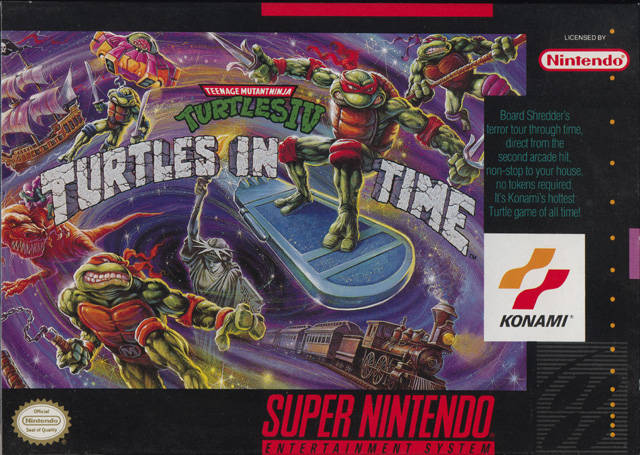 Top Five Most Wanted SNES Games For The Virtual Console Turtles+in+time+front+box+cover+snes