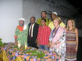 INAUGURAÇÃO DO ESPAÇO CULTURAL AFRO-AMAZONICO