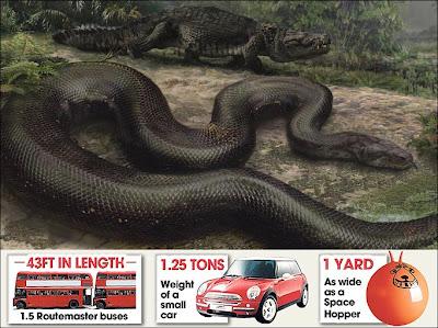 งู ใหญ่ที่สุดในโลก