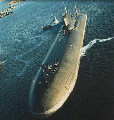 ไต้ฝุ่น เรือดำน้ำ ใหญ่ที่สุดในโลก