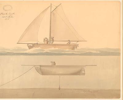 เรือดำน้ำ ของ Robert Fulton