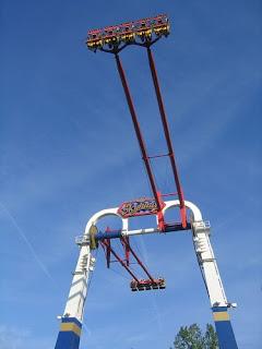 เครื่องเล่น skyhawk แห่ง cedar point