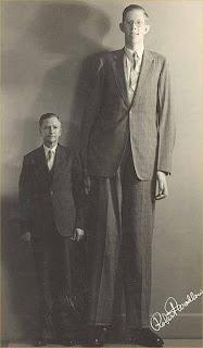คนที่สูงที่สุดที่เคยมีมา