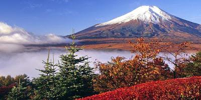 ภูเขาไฟฟูจิ ภูเขาที่สวยที่สุดในโลก