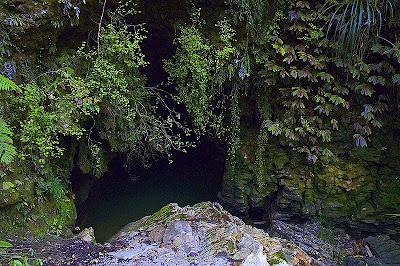 ปากทางเข้าถ้ำ