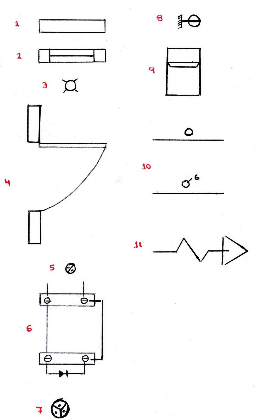 Salomon dibujos for Simbologia de planos arquitectonicos