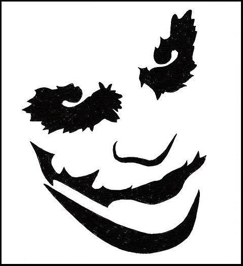 Toony toons locate your funny bone stencil art joker