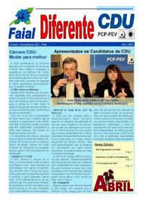 Boletim informativo da CDU Faial (Abril 2009)