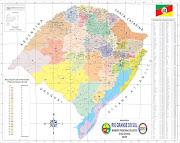 Lançado o novo mapa territorial do MTG. Postado por Rogério Bastos (mapa do rs mtg)