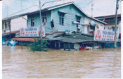 banjir di kota tinggi